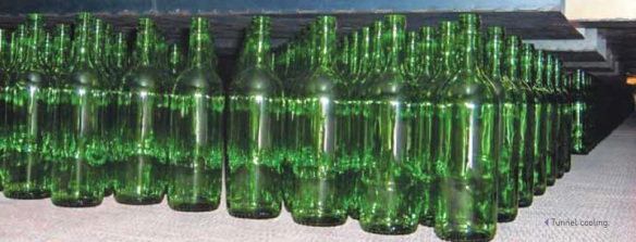 bottle glass lehr